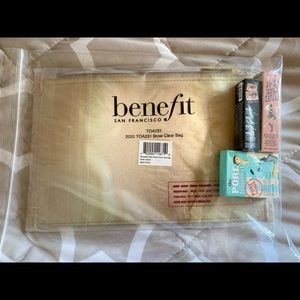 Benefit Cosmetics Bag with Samples